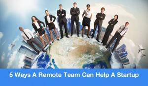 remote team help startup