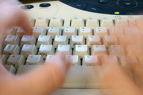 fast typist