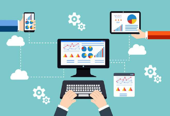 Becoming Data Entry Operator Image in Outsource Workers - Data Entry Tasks and Works Image Illustration
