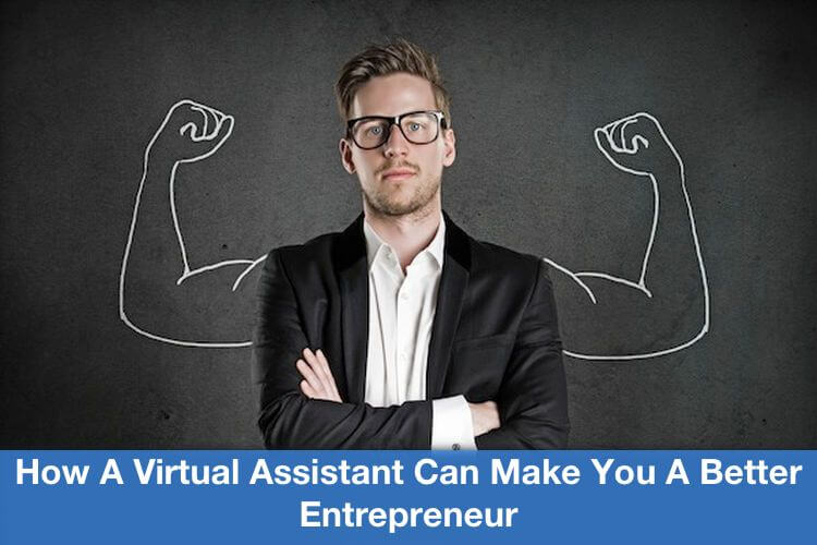 Better Entrepreneur with Virtual Assistant Image in Outsource Workers - Strong Professional Man