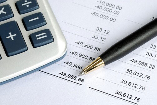 Business Expansion and Bookkeeping Record Image in Outsource Workers - Calculator and Bookkeeping Record and Pen