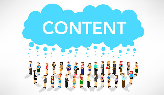 Content Marketing Strategy Image in Outsource Workers - Content Marketing Like Raining on Prospects for Information