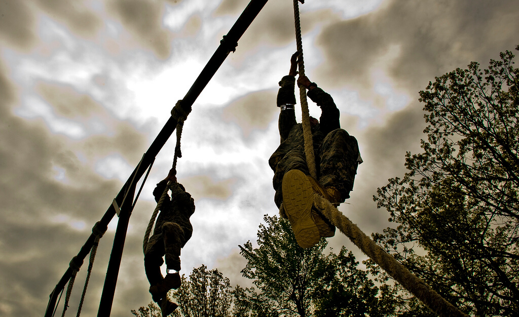 Defining Ideal Client Image in Outsource Workers - Studying Competitors Climbing on Rope