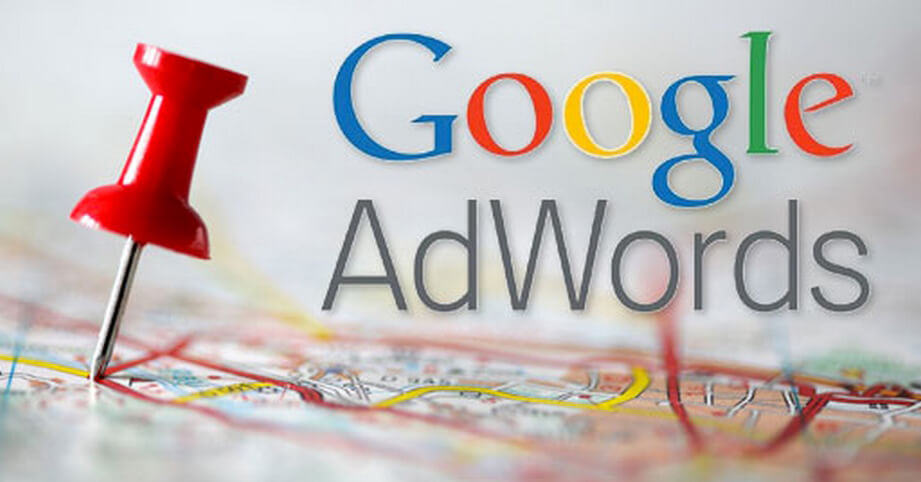 Google Adworks Making Image in Outsource Workers - Google Adwords Logo with a Big Pin
