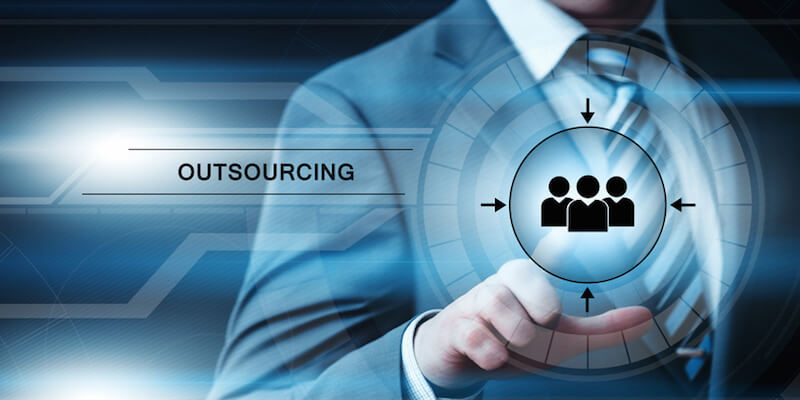 Hybrid Framework Future of Outsourcing Solutions Image in Outsource Workers - Outsourcing In One Hand