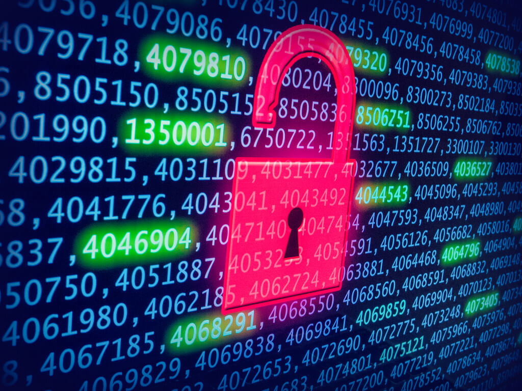 Importance of Database Security Image in Outsource Workers Security Locked Online Database
