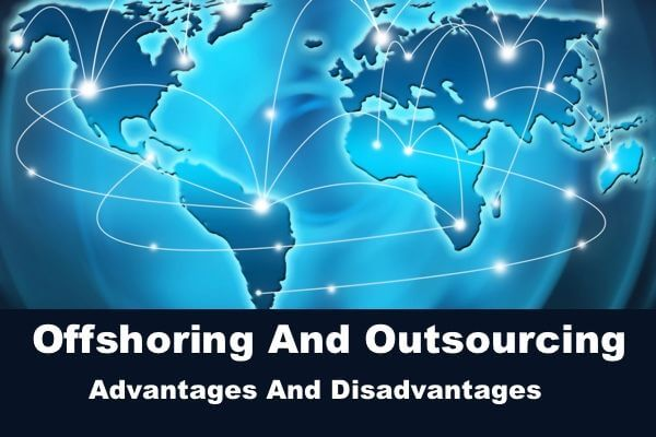 Offshoring and Outsourcing Advantages Image in Outsource Workers -Internet and Information Technology in Hand