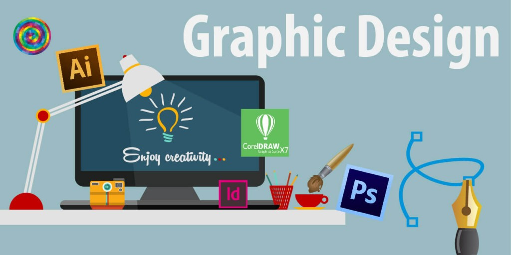 Outsourcing Marketing Tasks Image in Outsource Workers - Graphic Design Image Illustration Designer Table Tools