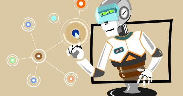 Real Estate Admin Tasks Outsourcing Image in Outsource Workers - Robot VA Filling the Gap