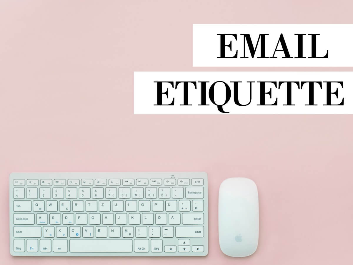 Testing Email Subject Lines Image in Outsource Workers - Email Etiquette Illustration Keyboard and Mouse