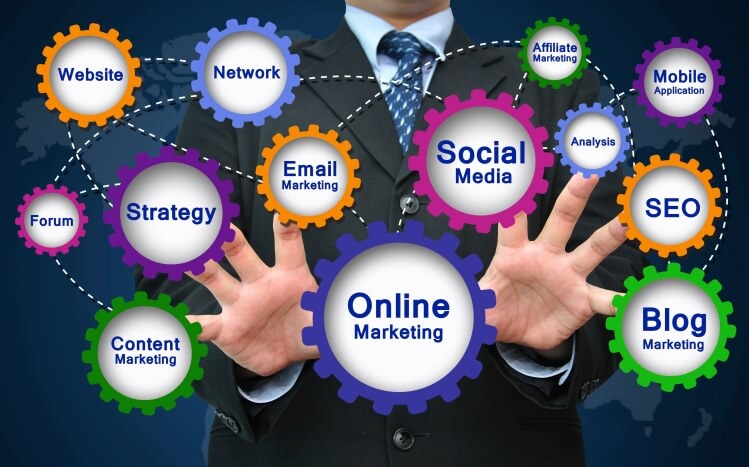 Time Consuming Admin Tasks Image in Outsource Workers Social Media and Online Marketing