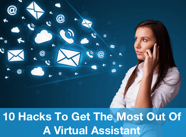 Virtual Assistant Management Image in Outsource Workers - Mails Calls and Clouds Done by Virtual Assistants
