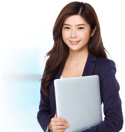Virtual Assistant Services and Jobs Image in Outsource Workers - Smiling and Accommodating Outsourced Virtual Assistant